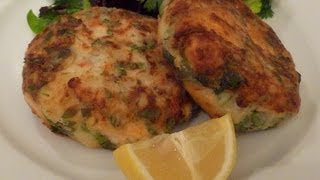 Spicy Salmon Fish Cakes Cook-along Video Part 1