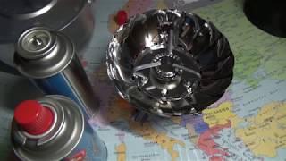 Туристическая  плита газовая потративная  ENERGY GS-100. Обзор