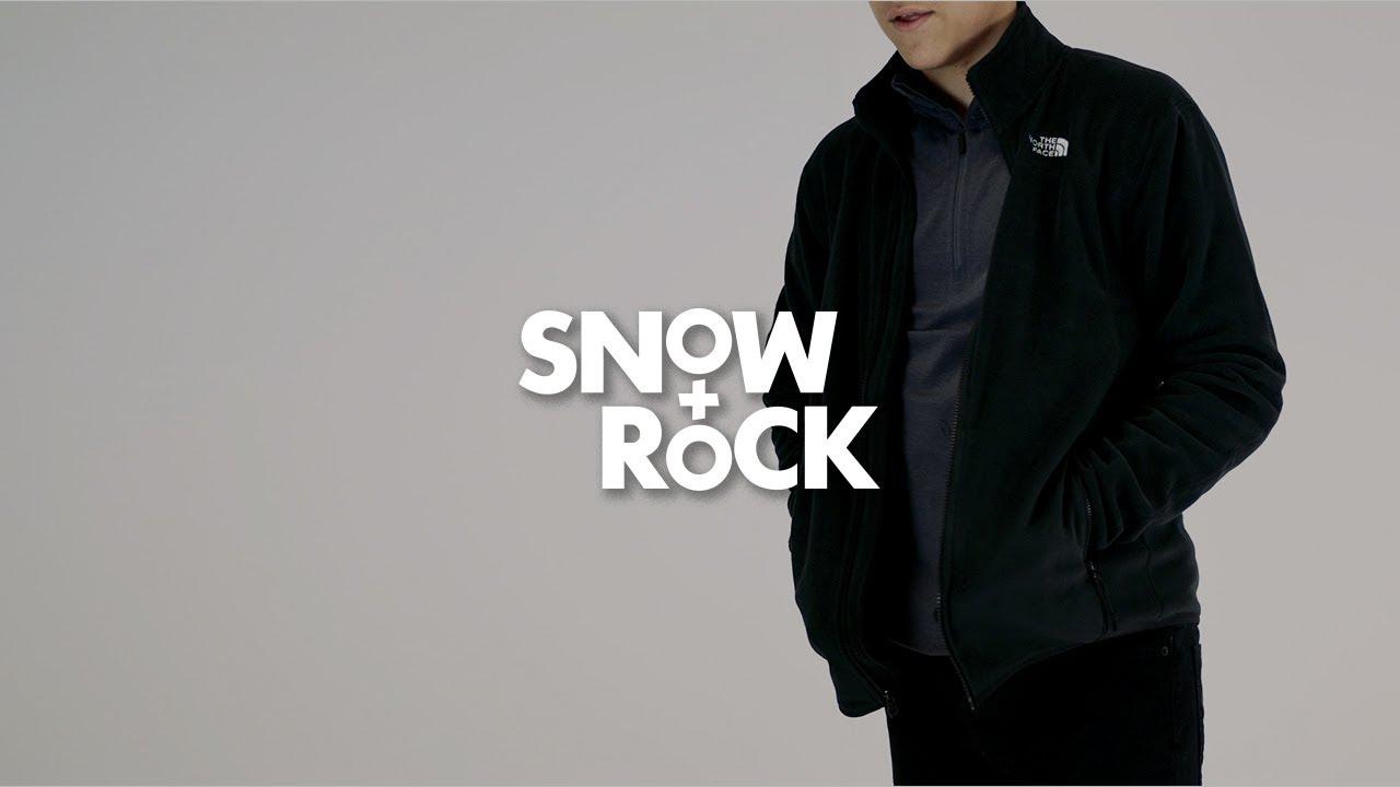 ca9e89d7b3 The North Face 100 Glacier Full Zip by Snow+Rock - YouTube