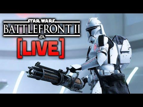 BATTLEFRONT 2 LIVE - Patch 1.1 Is Live, Let's Test The Changes!