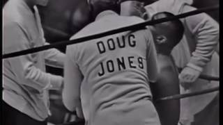 Cassius Clay Vs Doug Jones 13.3.1963 w/ mid fight analysis featuring Burt Sugar & George Chuvalo