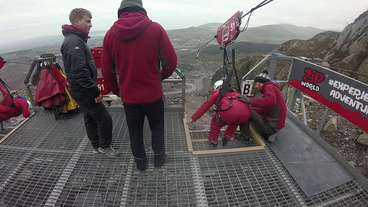 RIDING THE LONGEST ZIP WIRE IN EUROPE!! - YouTube