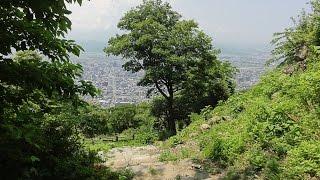 鳥取城の新緑 トットリ街歩き 鳥取城 検索動画 15