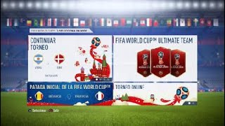FIFA WORLD CUP (FIFA18): 1930 World cup champions vs 2014 World cup champions (Uruguay vs Germany)