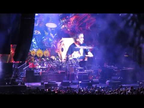 Dead & Company 6/20/16 Camden, NJ Weather report jam-drums/space Watchtower