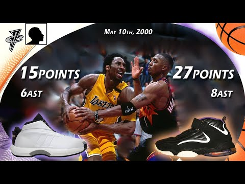 Penny vs Kobe playoffs face off 2000