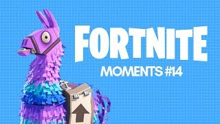 FORTNITE MOMENTS #14 SHOOT FOR THE SKY