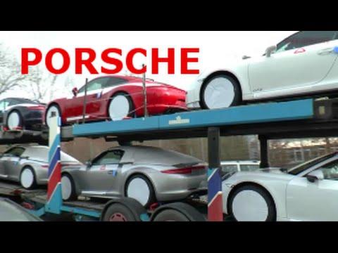 Porsche In Stuttgart Die Fabrik The Porsche Factory In