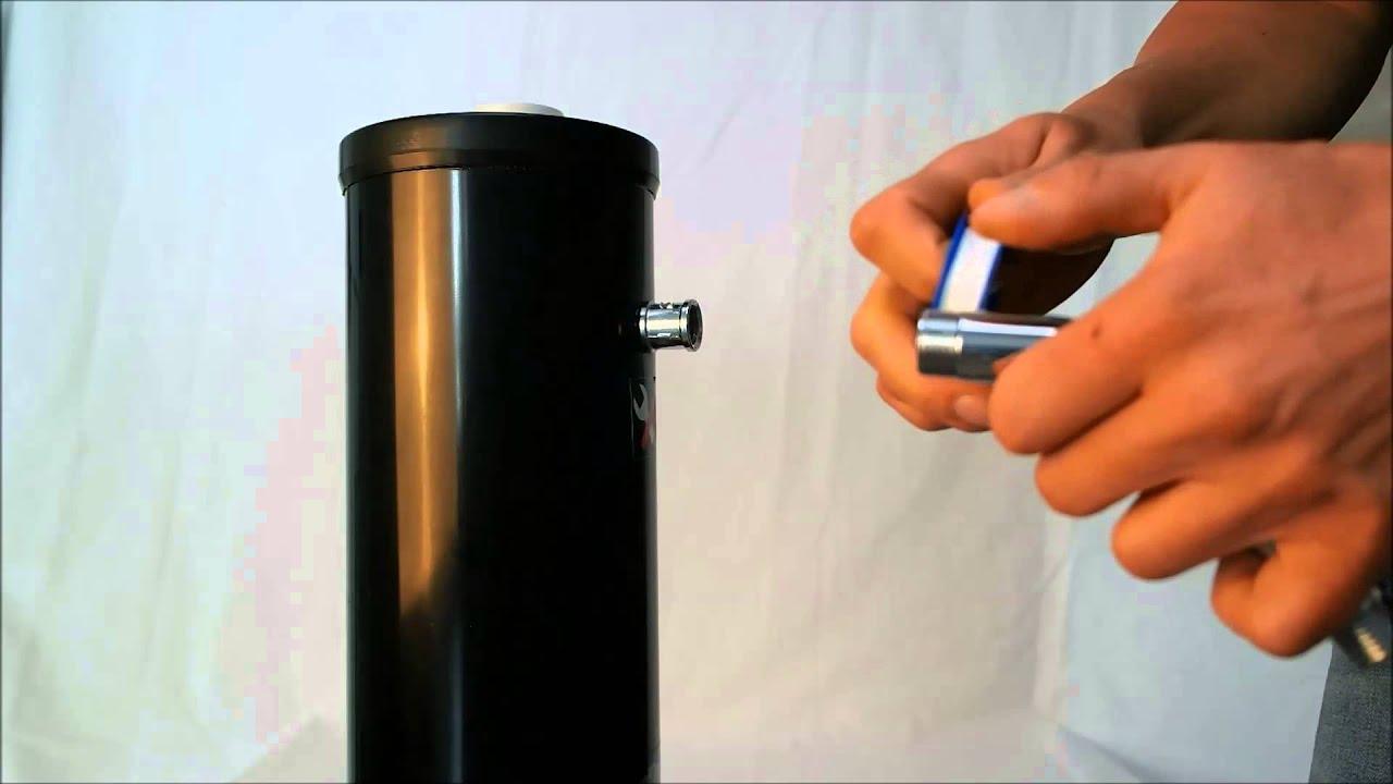 aufbau solardusche firma mauk video 1 aufwickeln des. Black Bedroom Furniture Sets. Home Design Ideas