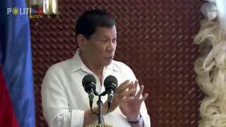Duterte calls Trillanes 'face of evil'
