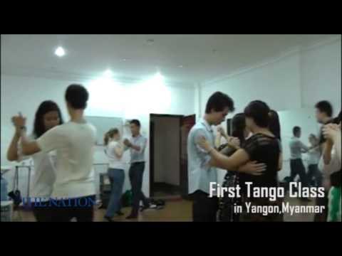 the first Tango class in Yangon,Myanmar