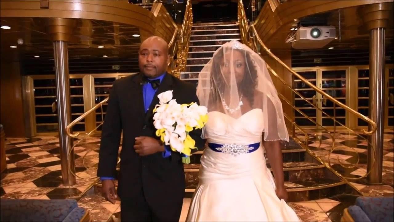 Carnival Wedding Cruise Carnival Ecstasy  YouTube