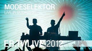 Modeselektor live in Budapest (2012)