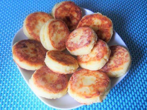 Самые вкусные сырники без пшеничной муки и манки / Сырники из творога