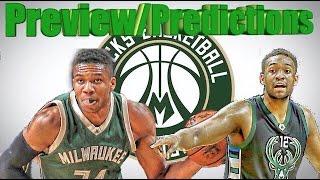 Milwaukee Bucks SEASON PREVIEW/PREDICTION