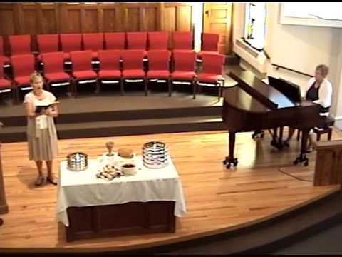 Worship Service Grace Mennonite Church August 18, 2013