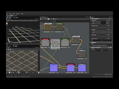 Net Pattern Creation in Substance Designer 6