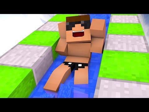 Minecraft Adventure : INSANE WATER PARK!? ( Minecraft Roleplay )