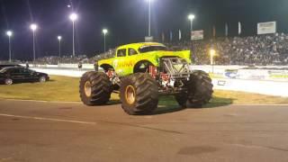 Monter truck at Englishtown raceway park NJ