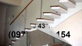 Монолитные бетонные лестницы(