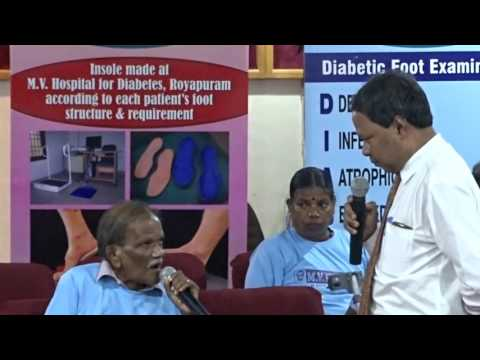 M.V.Hospital for Diabetes and Prof M.Viswanathan Diabetes Research Centre,Royapuram  2 B4U MEDIA