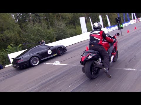 hayabusa vs porsche 700hp. обсуждение