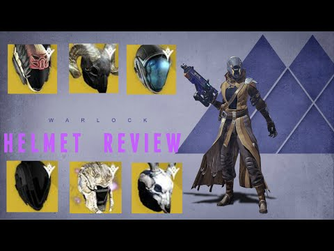 Destiny: Warlock Year 2 Exotic Helmets | My Personal Faves!