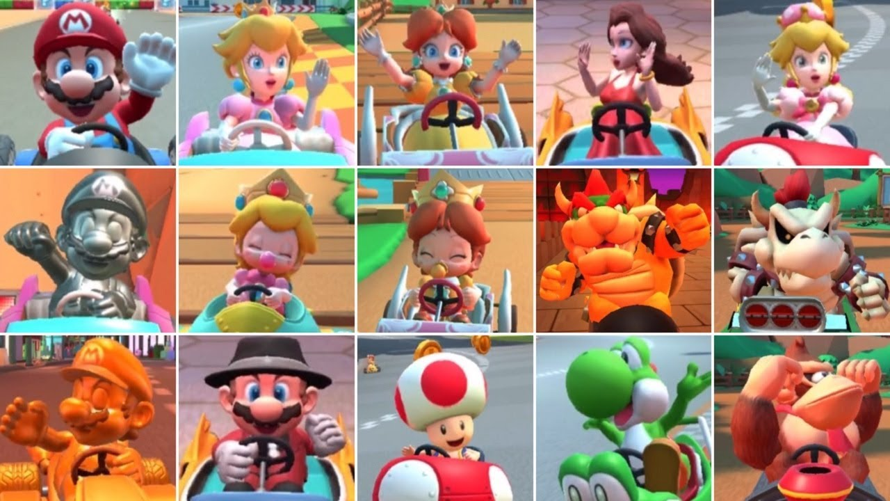 Mario Kart Tour All Characters Unlocked