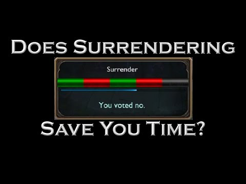 Does Surrendering Save You Time? (Full Mathematical Analysis)