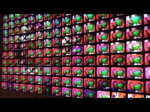 "Video/Installation Art From Nam June Paik - ""Megatron/Matrix"" And ""Electronic Superhighway"""