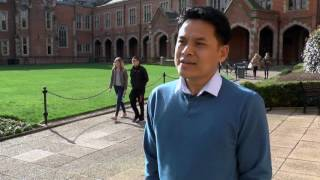 Udi Samanhudi talks about the Doctorate in Education (TESOL) at Queen's University Belfast