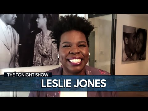 Leslie Jones Tells the Story of How She First Met Eddie Murphy | The Tonight Show