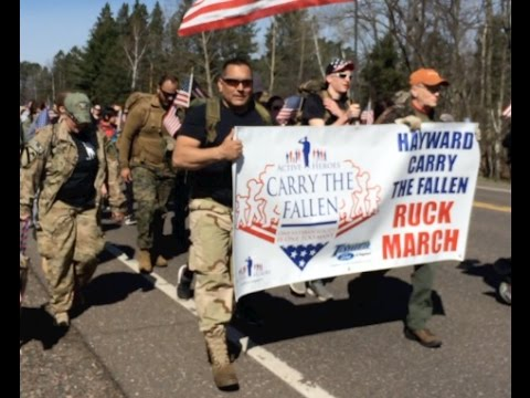 2017 Hayward Carry the Fallen Ruck March
