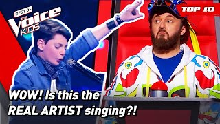 Incredible SOUND-ALIKES in The Voice Kids!   Top 10