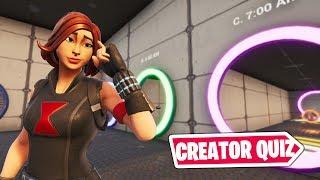 Fortnite Creator Quiz (Featured Map!)