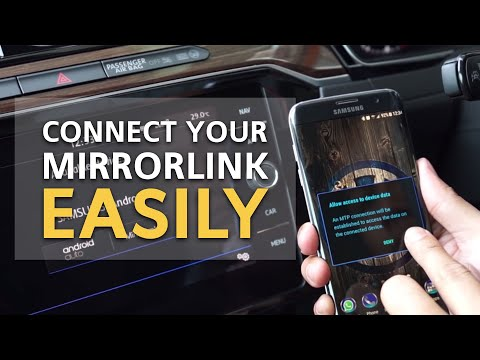 How to connect MirrorLink | VW Tips