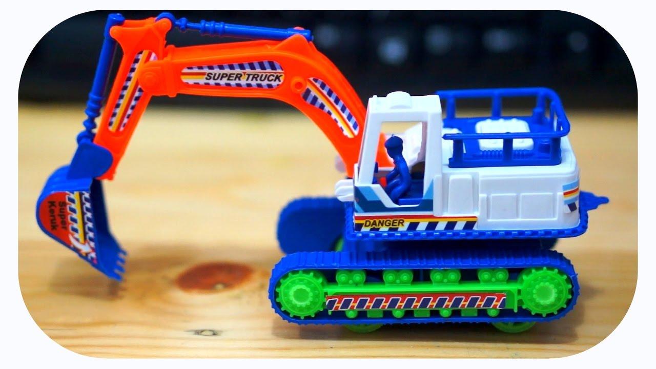 Mainan Anak Escavator Plastik Beko Bego Youtube