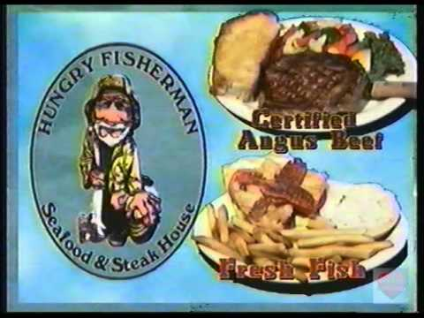 Hungry Fisherman Seafood & Steakhouse Television Commercial 2001 Huntsville Madison Athens Alabama
