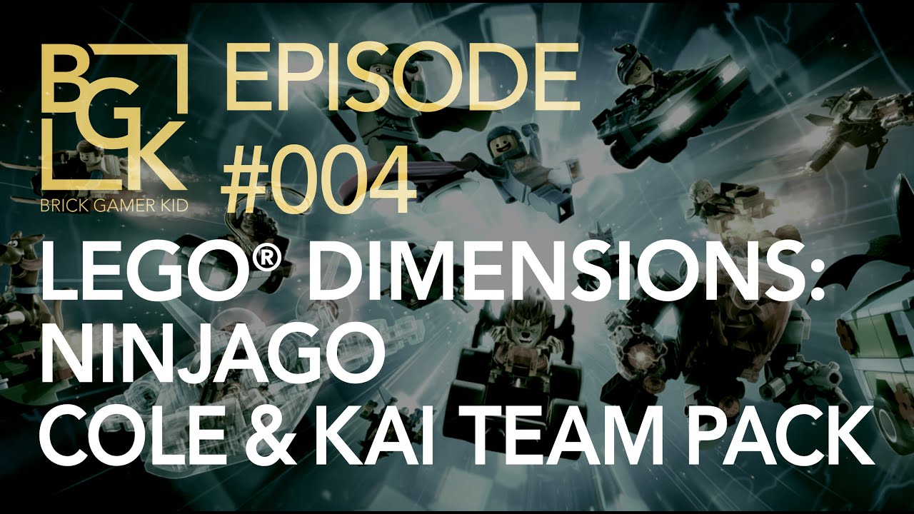 Download Brick Gamer Kid #004: Lego Dimensions – Ninjago Team Pack
