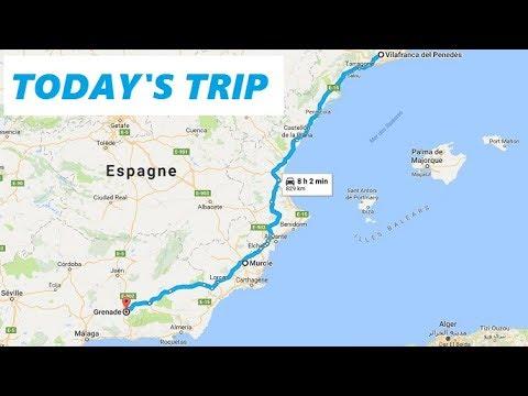 [Roadtrip 2 #81 - Spain] AP-7: Catalunya to A-7 in Valencia