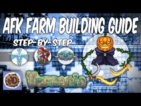 Terraria AFK Farms Step-by-Step Guide   Pumpkin Moon   Frost Moon (1.3 bosses events)