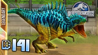 Megalosaurus Max Lvl 40!! || Jurassic World - The Game - Ep 141 HD
