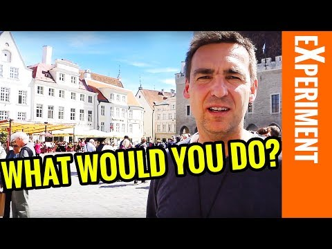 Experiment: What would you do? - The Billion Dollar Secret