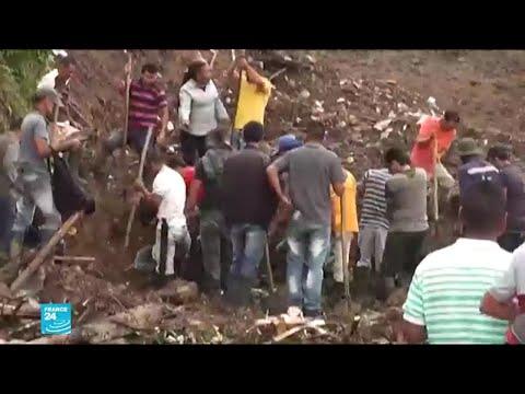 انزلاق للتربة في كولومبيا يودي بحياة العديد من الأشخاص  - نشر قبل 23 دقيقة