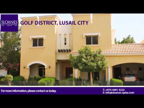 Luxury Villas next to Doha Golf Club