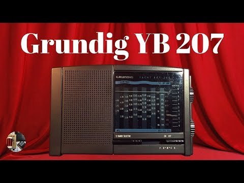 Grundig Yacht Boy 207 MW LW SW Radio Review