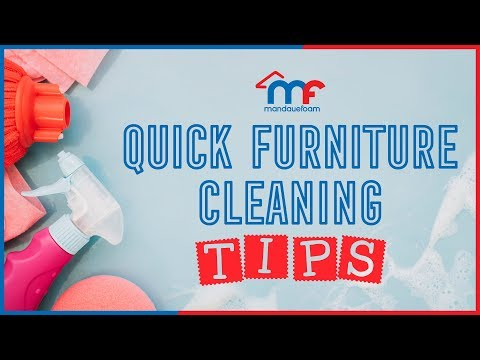Quick Furniture Cleaning Tips