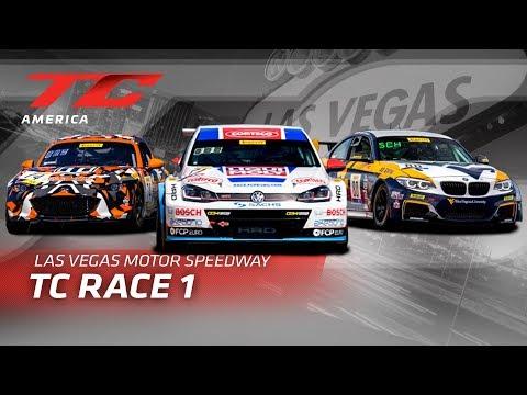 RACE 1 - LAS VEGAS MOTOR SPEEDWAY - TC America - TC 2019