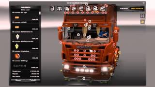[ETS2]Euro Truck Simulator 2 Scania R 2008 50K