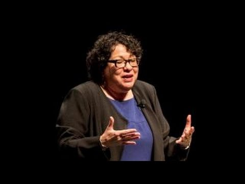 Supreme Court Justice Sonia Sotomayor expresses her thoughts on Anthony Scalia